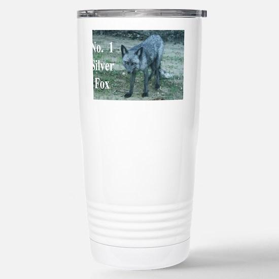 Fox12.125x6.125A Stainless Steel Travel Mug