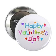 """Happy 'Valntime's' Day 2.25"""" Button (10 pack)"""