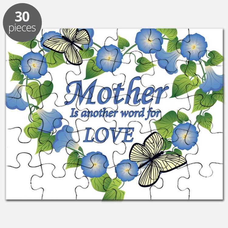Mothers Love  Heart Puzzle