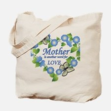 Mothers Love  Heart Tote Bag