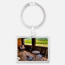 10-07-18_Sharp_Rock_Vineyards_D Landscape Keychain