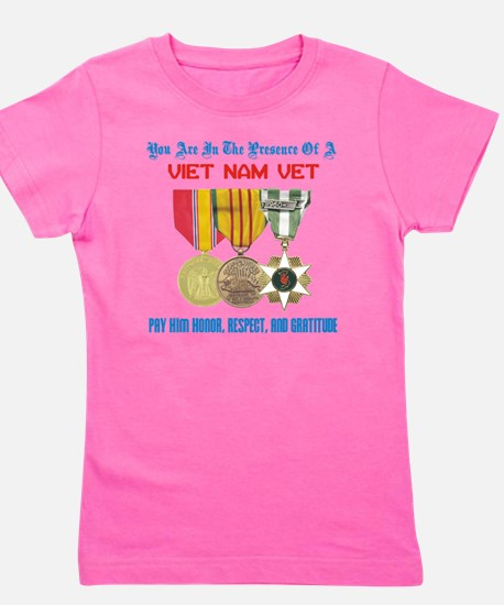 presence of vn vet Girl's Tee