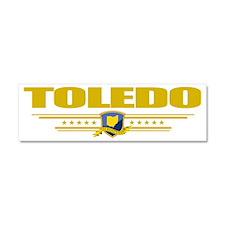 Toledo (Flag 10) pocket Car Magnet 10 x 3