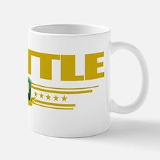 Seattle (Flag 10) pocket Mug