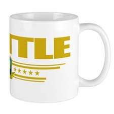 Seattle (Flag 10) pocket Small Mug