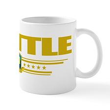 Seattle (Flag 10) pocket Small Small Mug