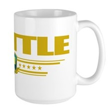 Seattle (Flag 10) pocket Mug