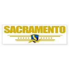 Sacramento (Flag 10) pocket Bumper Sticker