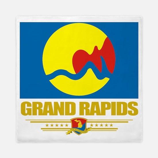 Grand Rapids (Flag 10) Queen Duvet