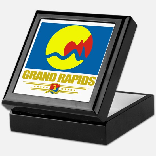 Grand Rapids (Flag 10) Keepsake Box