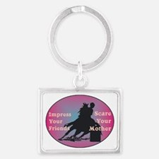 scare your mother Landscape Keychain