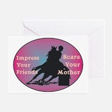 scare your mother Greeting Card