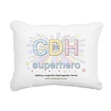 cdhsuperheroe Rectangular Canvas Pillow