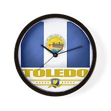 Toledo (Flag 10) Wall Clock