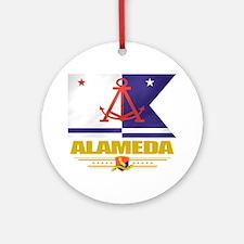 Alameda (Flag 10) Round Ornament