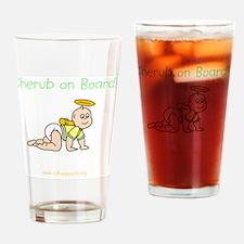 cherubonboard4 Drinking Glass