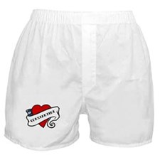Constantine tattoo Boxer Shorts