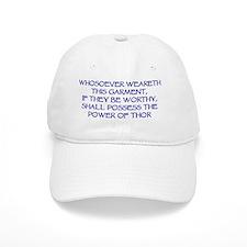 thor garment blue Baseball Cap