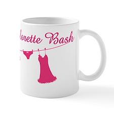 kara hot pink Mug