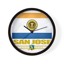 San Jose (Flag 10) Wall Clock