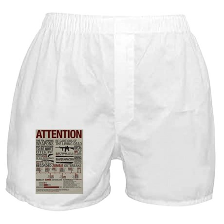 Infograph_Zombies Boxer Shorts