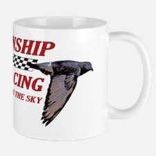 PIGEON_alincenseplate Small Small Mug