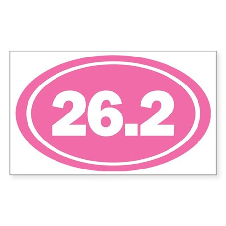 26.2 Oval Sticker (Rectangle)