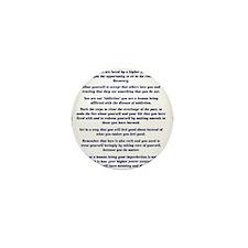9x12AffirmationsTribal Mini Button