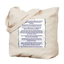9x12AffirmationsTribal Tote Bag