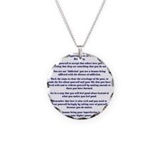 9x12AffirmationsTribal Necklace