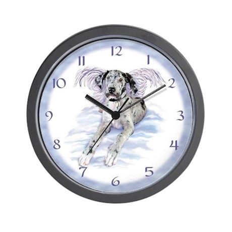 Merle Dane Angel UC Wall Clock