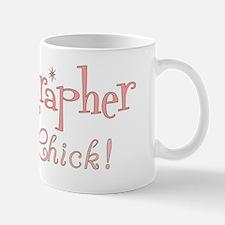 Sonographer Chick Retro Mug