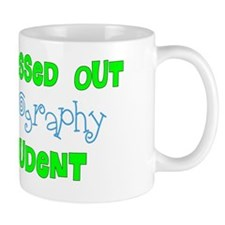Stress out Sonography student BLUE GREE Small Mug