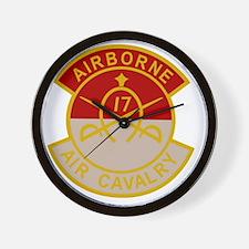 17th Air Cavalry 1st Squadron Airborne  Wall Clock