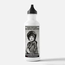 BITCH 2sml (2) Water Bottle