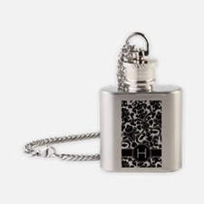 444_monogram_iphone_H Flask Necklace