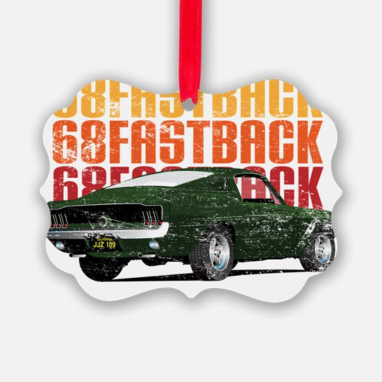 68Fastback_distress Ornament