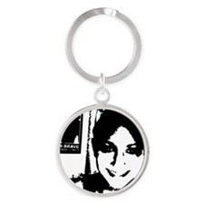 Marrisas Toothy Smile Round Keychain