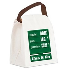 GasPrices Canvas Lunch Bag