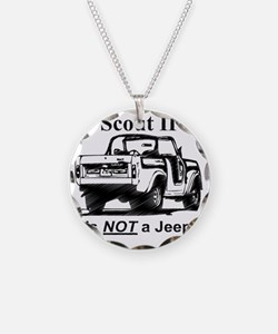 Scout-II---Not-a-Jeep Necklace