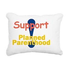 Planned Parenthood Rectangular Canvas Pillow