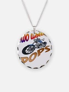 TWO WHEELIN POPS Necklace
