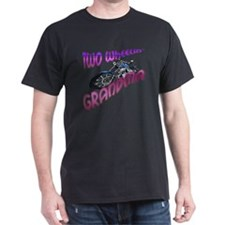 TWO WHEELIN GRANDMA BIKER T-Shirt
