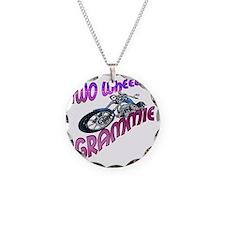 TWO WHEELIN GRAMMIE Necklace Circle Charm