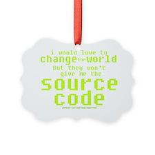 sourcecode_darkshirt Ornament