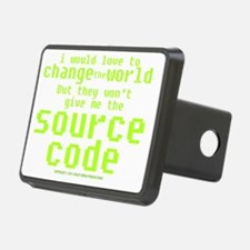 sourcecode_darkshirt Hitch Cover