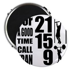 For a good time call Fran. Magnet