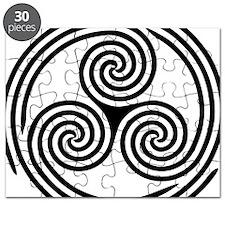 wht_Triple_Spiral_Triskelion Puzzle