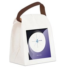 Wide Awake Canvas Lunch Bag