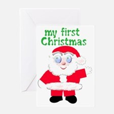 first-christmas Greeting Card